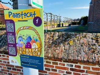 Wandelaars kunnen nog tot eind april op zoek naar de paashaas