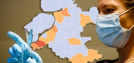 KAART | Aantal nieuwe coronagevallen in Flevoland gehalveerd, Putten springt er zelfs landelijk uit