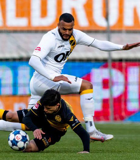 NAC knokt zich drie keer terug na achterstand, maar blijft steken op gelijkspel tegen Roda JC