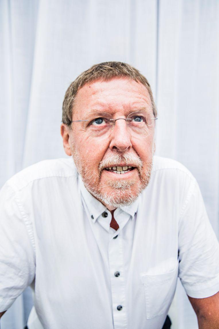 Siegfried Bracke: 'Er is in dit land een sociaal probleem. N-VA doet alsof ze dat niet ziet, maar wie in de verkiezingscampagne op de markt heeft rondgelopen, weet wel beter.'    Beeld Aurélie Geurts