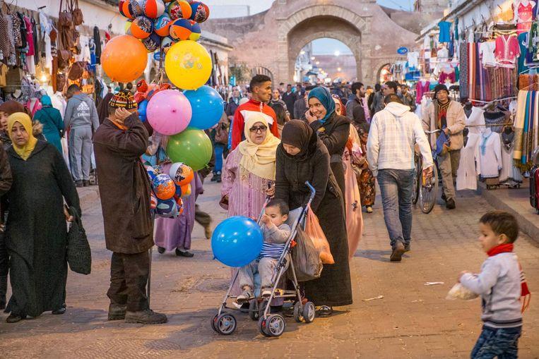 Land: Marokko.'Ik denk dat Marokko het mooiste land ter wereld is. Serieus.' Beeld HH