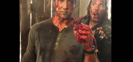 Sylvester Stallone croque un cœur humain