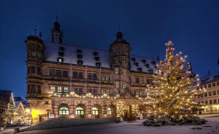 Kerst in Rothenburg Beeld Rothenburg Tourimus Service