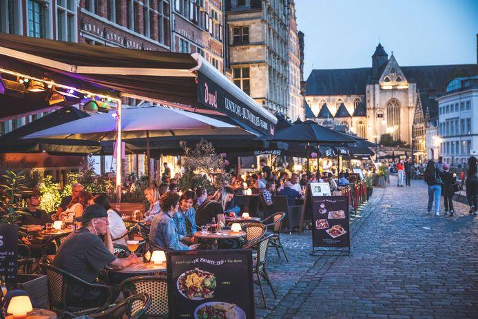 Alleen als er iets te beleven valt in de stad, lopen ook de cafés vol