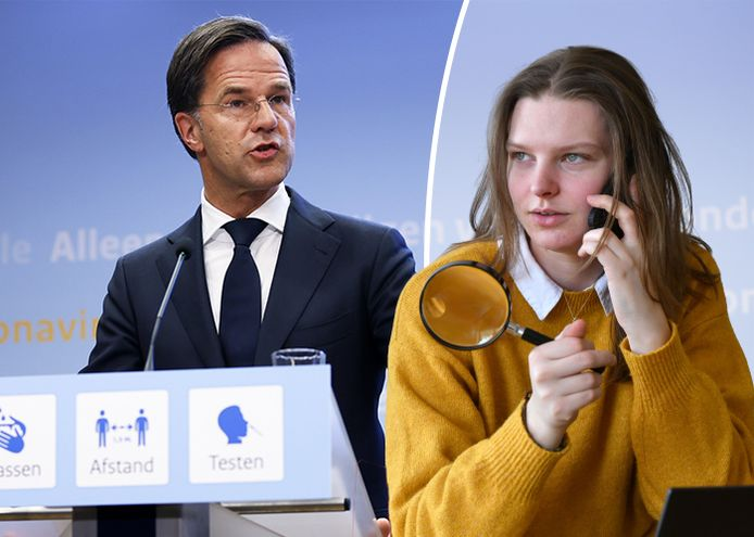 Dataverslaggever Dominique Voss checkt de uitspraak van Rutte.