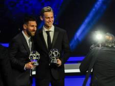De Jong en co zien Messi terug op trainingsveld