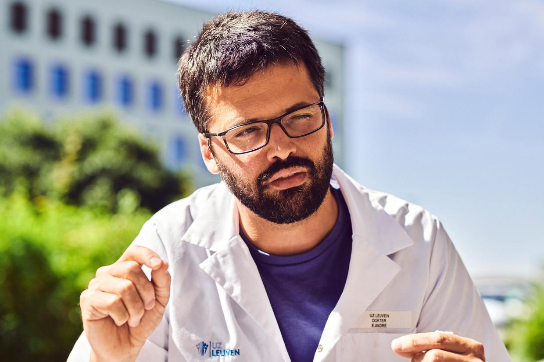 Het rapport werd opgemaakt door viroloog Emmanuel André. Beeld Thomas Nolf