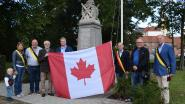 """Assenede bedankt bevrijders met Canadese vlag: """"Nooit vergeten wat 75 jaar geleden gebeurd is"""""""