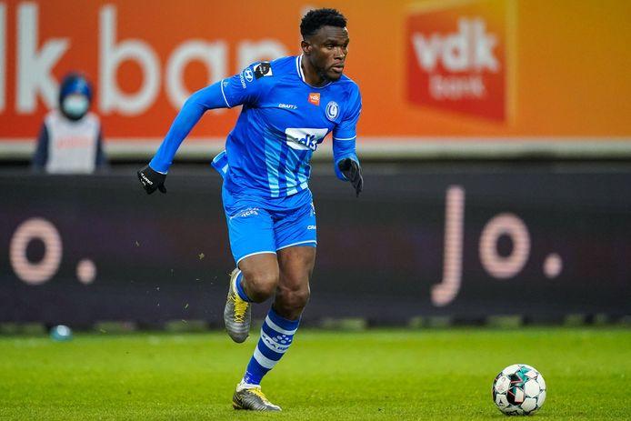 Michael Ngadeu vierde tegen Cercle Brugge zijn terugkeer.