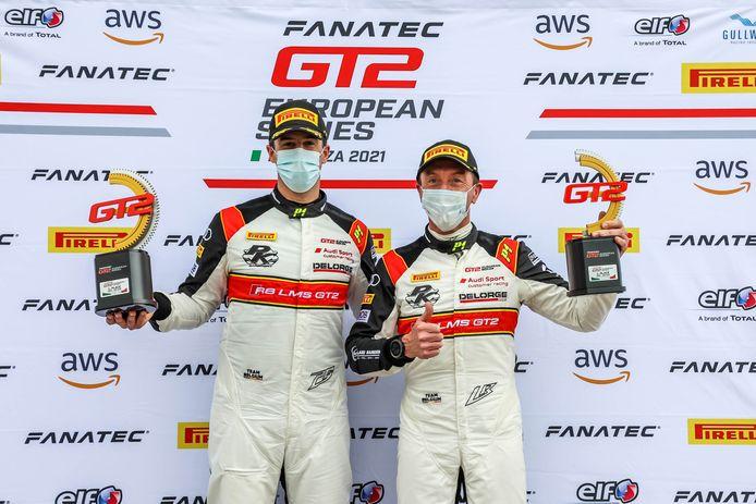 Peter Guelinckx en Bert Longin wonnen in Monza meteen tijdens hun eerste weekend in de G2 European Series.