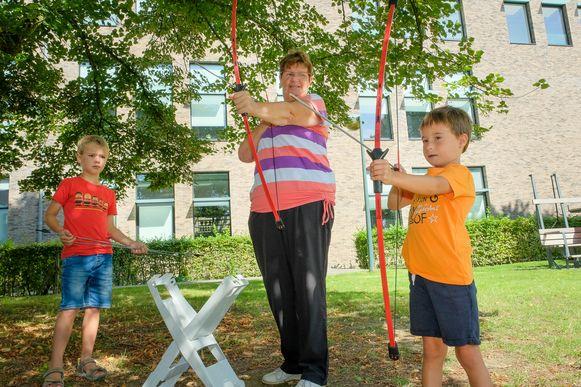 sportdag voor grootouders en kleinkinderen