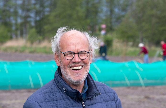 Gert Peek op de Stadsakkers van Veenendaal vorig jaar.