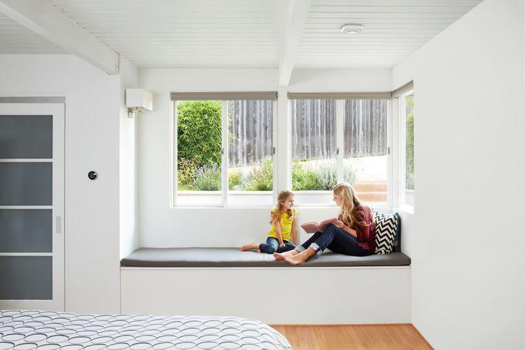 Onze huiskamers worden steeds vaker bevolkt door slimme toestellen, zoals Nest thermometer van Google. Beeld rv