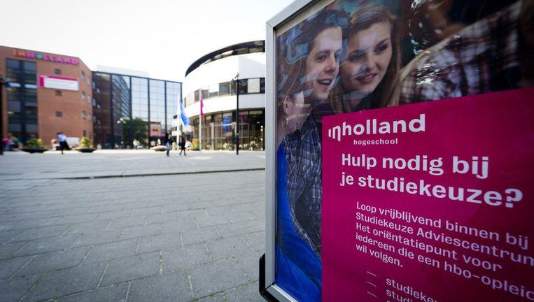 Inholland in Den Haag. © anp Beeld