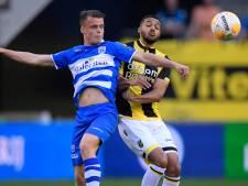 LIVE | Vitesse met tien man op voorsprong na prachtige treffer Linssen