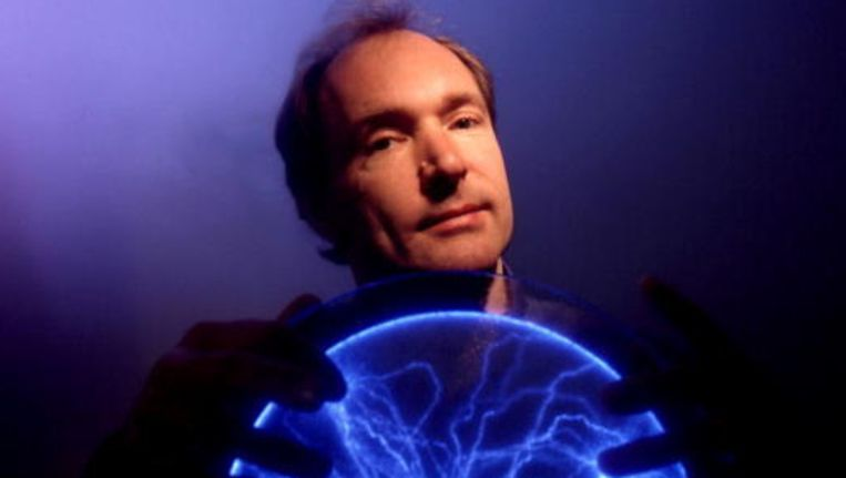 Tim Berners-Lee. Beeld UNKNOWN