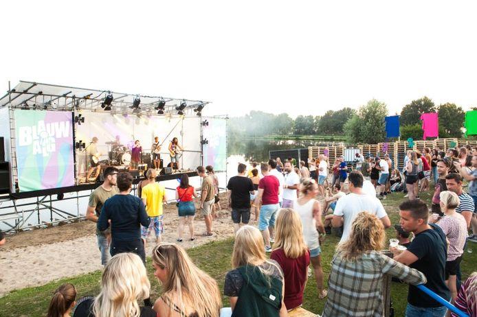 Het Blauwalg Festival in 2019.