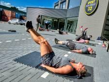 Creatieve ondernemers 'heropenen' sportschool in de buitenlucht