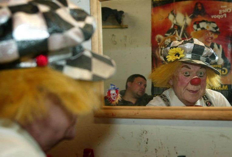 Popov in de kleedkamer, 2013. Beeld anp