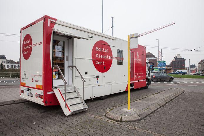 In Gent maken ze ook al gebruik van een mobiel dienstencentrum.