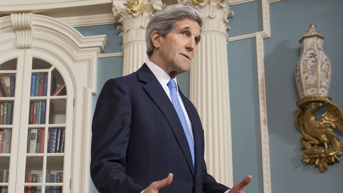 John Kerry, de Amerikaanse minister van Buitenlandse Zaken.