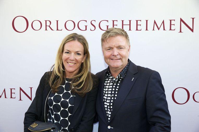 Rene Mioch en dochter Beeld anp