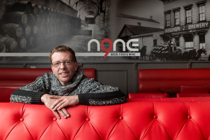 Jos Hermans opent op 8 maart zijn restaurant N9NE in Boxtel. Hij wil zijn gerechten combineren met kleine glaasjes (speciaal)bier.