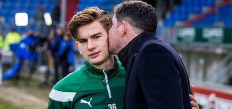 Vader en zoon Van de Looi blij met puntendeling: 'Ideaal scenario'