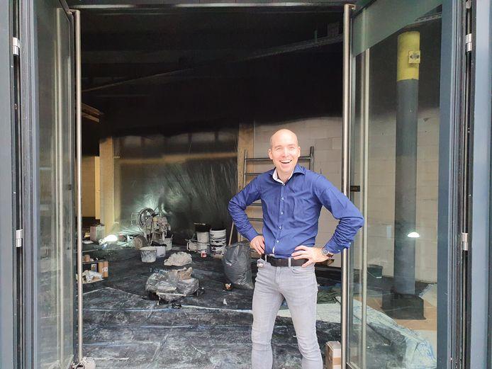 """Jean-Paul van den Tillaar van de Bruna in Veldhoven: ,,Nog even doorpezen."""""""