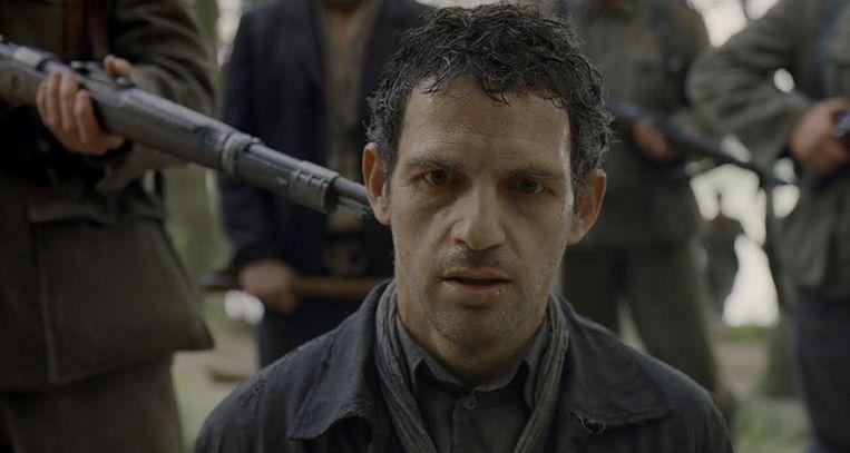 Een scène uit de Holocaustfilm 'Son of Saul'. Beeld Ad Vitam