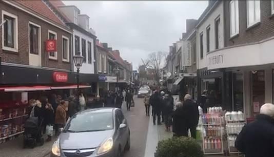In Sluis waren zaterdag veel meer Belgen te zien dan gebruikelijk.