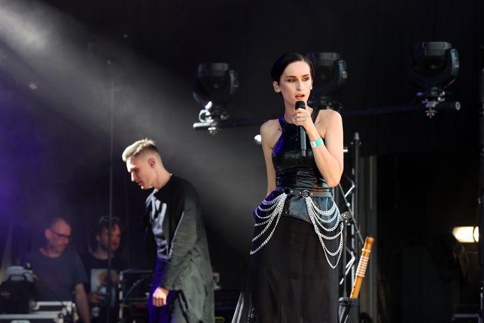 De Oekraïense Songfestivalsensatie Go_A op het Tiense festival 'Factory of Sweetness'