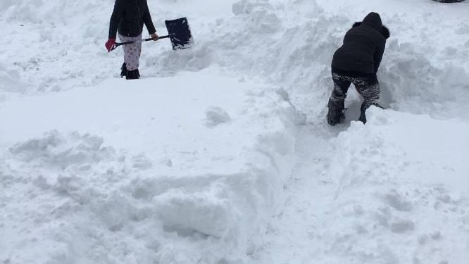 Anderhalve meter sneeuw en 38 graden vorst in Noord-Amerika