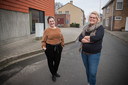 Zorgcoördinator Ine Vandecaveye en directrice Charlotte Ketels zien de toekomst van de Dorpsparel hoopvol tegemoet.