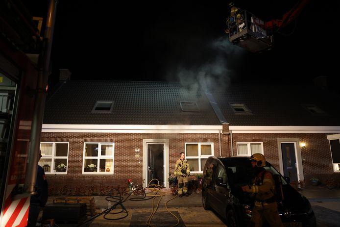 Rook was de grote boosdoener die dit nieuwe huis in Oldebroek onbewoonbaar maakte.