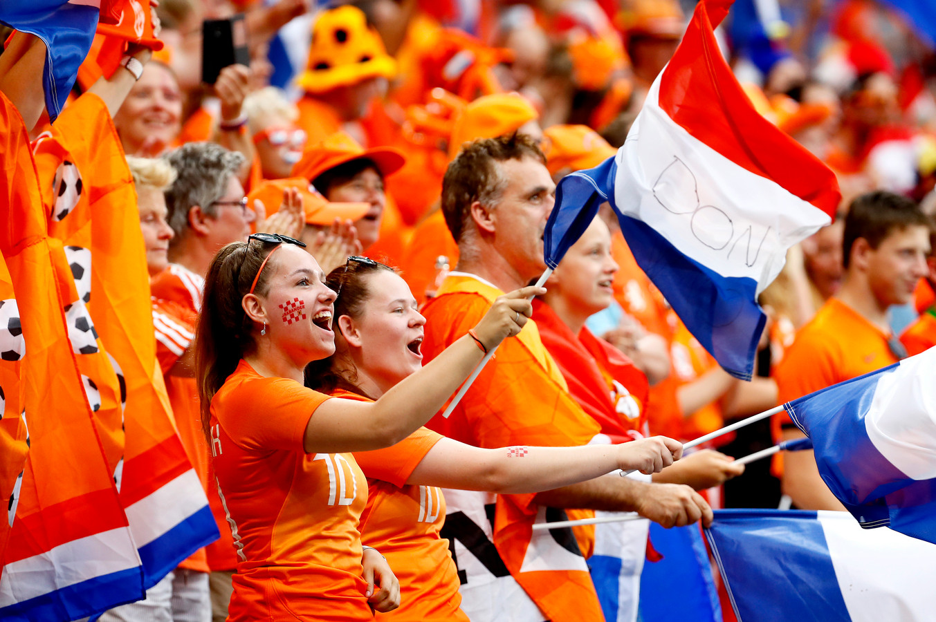 De in het oranje gestoken fans zullen ontbreken op de Olympische Spelen.