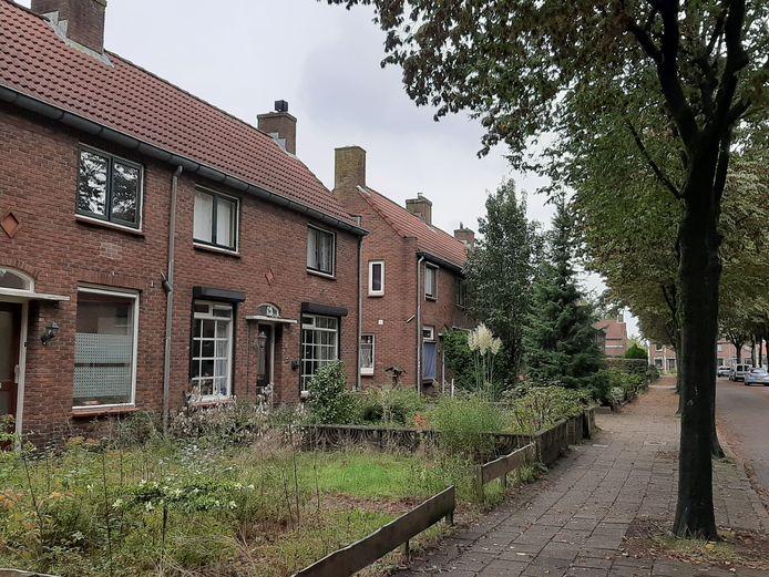 Huizen aan de IJssel de Schepperlaan in de Wethoudersbuurt. Archieffoto uit het najaar van 2019.