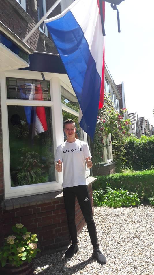 David Louisse uit Middelburg is geslaagd