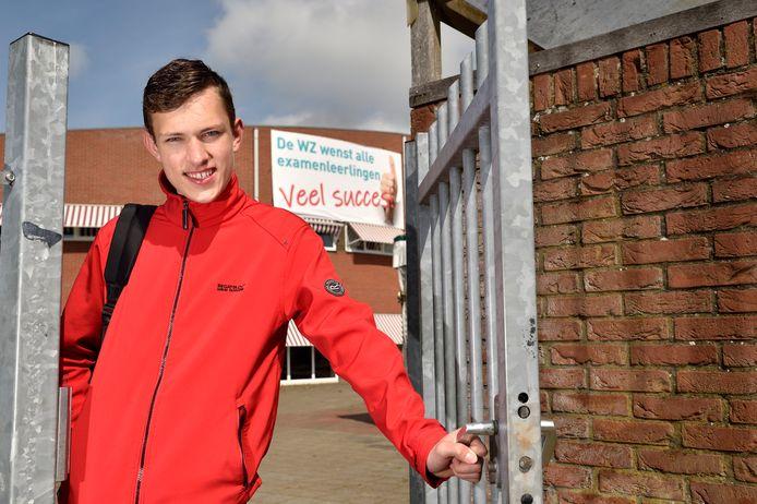 Ruben Kok (15) uit Schoonhoven.