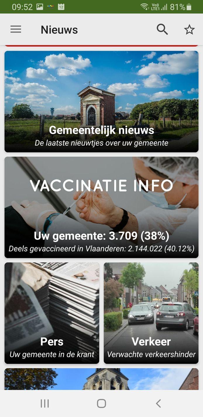 De gemeentelijke app van Steenokkerzeel is sinds woensdag beschikbaar.