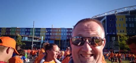 Kijken hoe Oranje voetbalt vanavond? Apeldoorner Herman zit gewoon in de Arena