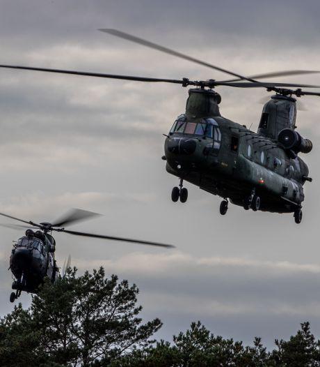Veel meer klachten over geluidshinder militaire helikopters