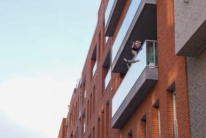 Deze buren van de Scheldekaaien zijn duidelijk niet opgezet met het protest. Het stadsbestuur liet eerder al weten dat ze veel klachten krijgen over skaters.