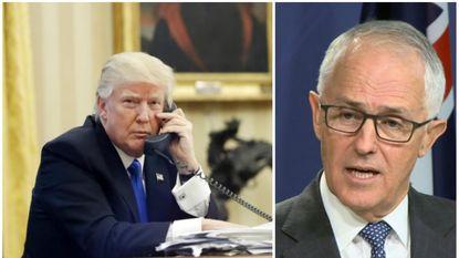 Boze Trump gooit hoorn op de haak na uitval tegen Australische premier