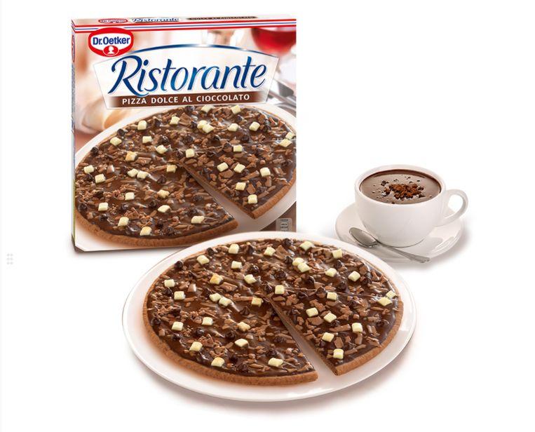 Ristorante Pizza Dolce al Cioccolato van Dr. Oetker.