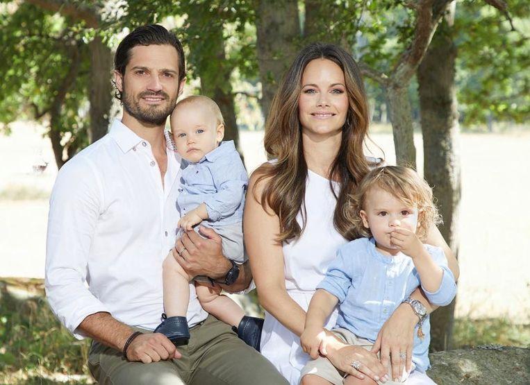 De Zweedse koninklijke familie.