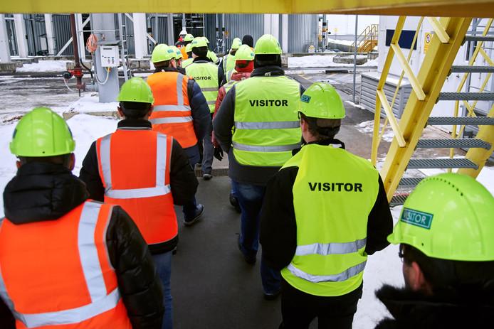 Foto ter illustratie. Op Nationale Werkbezoekdag openen bedrijven hun deuren voor werkzoekenden.