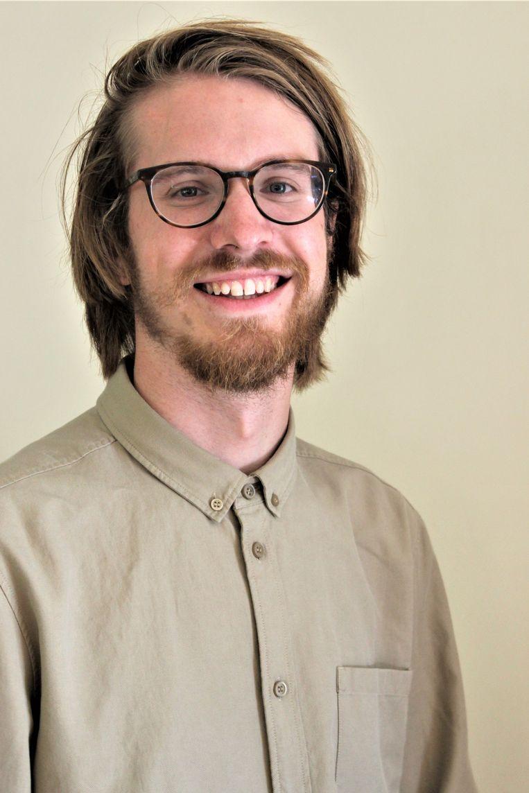 Onderzoeker Tom Nijs. Beeld