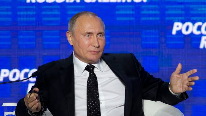 """Poetin: """"Helemaal niet in belang van Rusland om VS te hacken"""""""