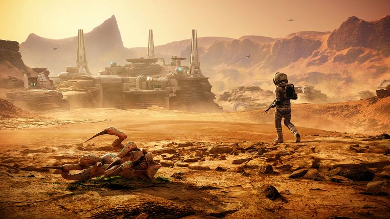 'Lost on Mars', een deel van de voortgezette content in 'Far Cry 5': een originele maar summiere extra ervaring. Beeld Ubisoft